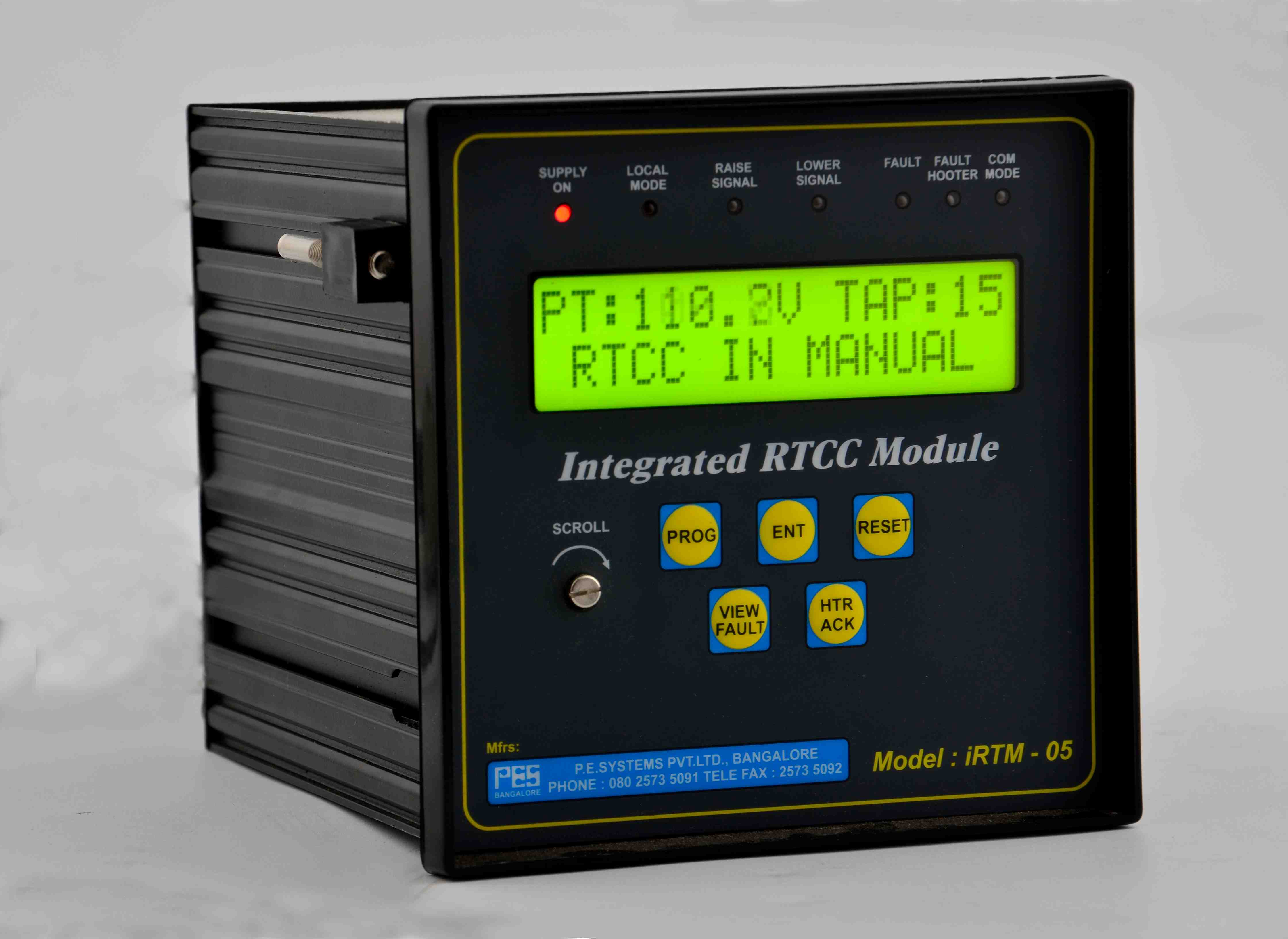 Integrated Tap Change Controllers